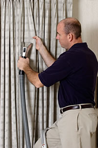 Coffey Clean Care will always give you the best view in drapery cleaning.